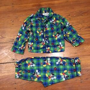 Boys 18 Months Mickey Mouse Pajamas